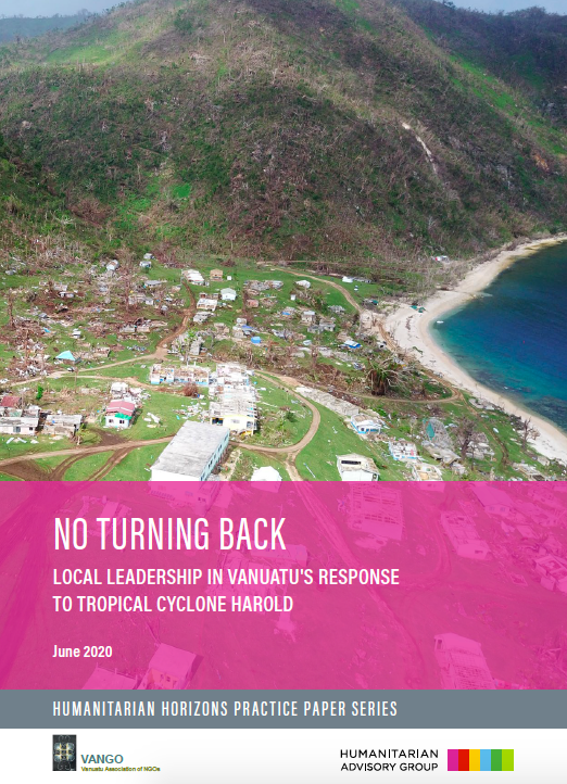 No Turning Back: Local leadership in Vanuatu's response to Tropical Cyclone Harold