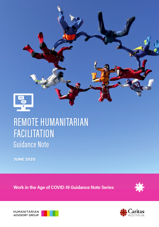 Remote Humanitarian Facilitation: Guidance Note