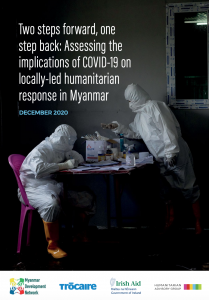 Two steps forward one step back; Assessing the implications of COVID-19 on locally-led humanitarian response in Myanmar