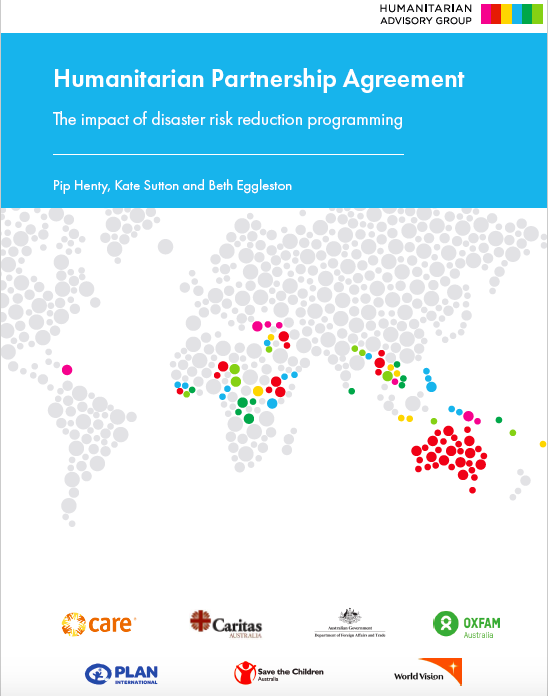 Humanitarian Partnership Agreement: The Impact of Disaster Risk Reduction Programming