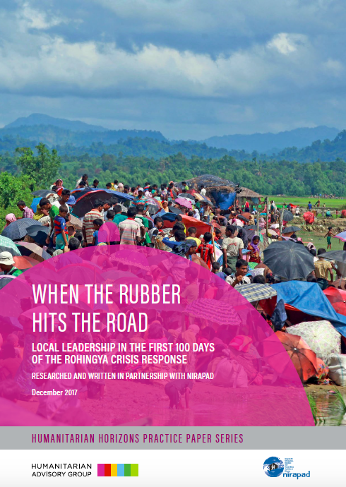 When the Rubber Hits the Road: Local Leadership in the first 100 days of the Rohingya Crisis Response