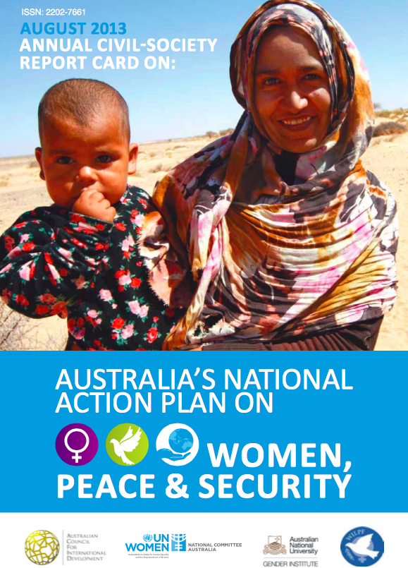 Annual Civil Society Report on Australia's National Action Plan on Women, Peace & Security