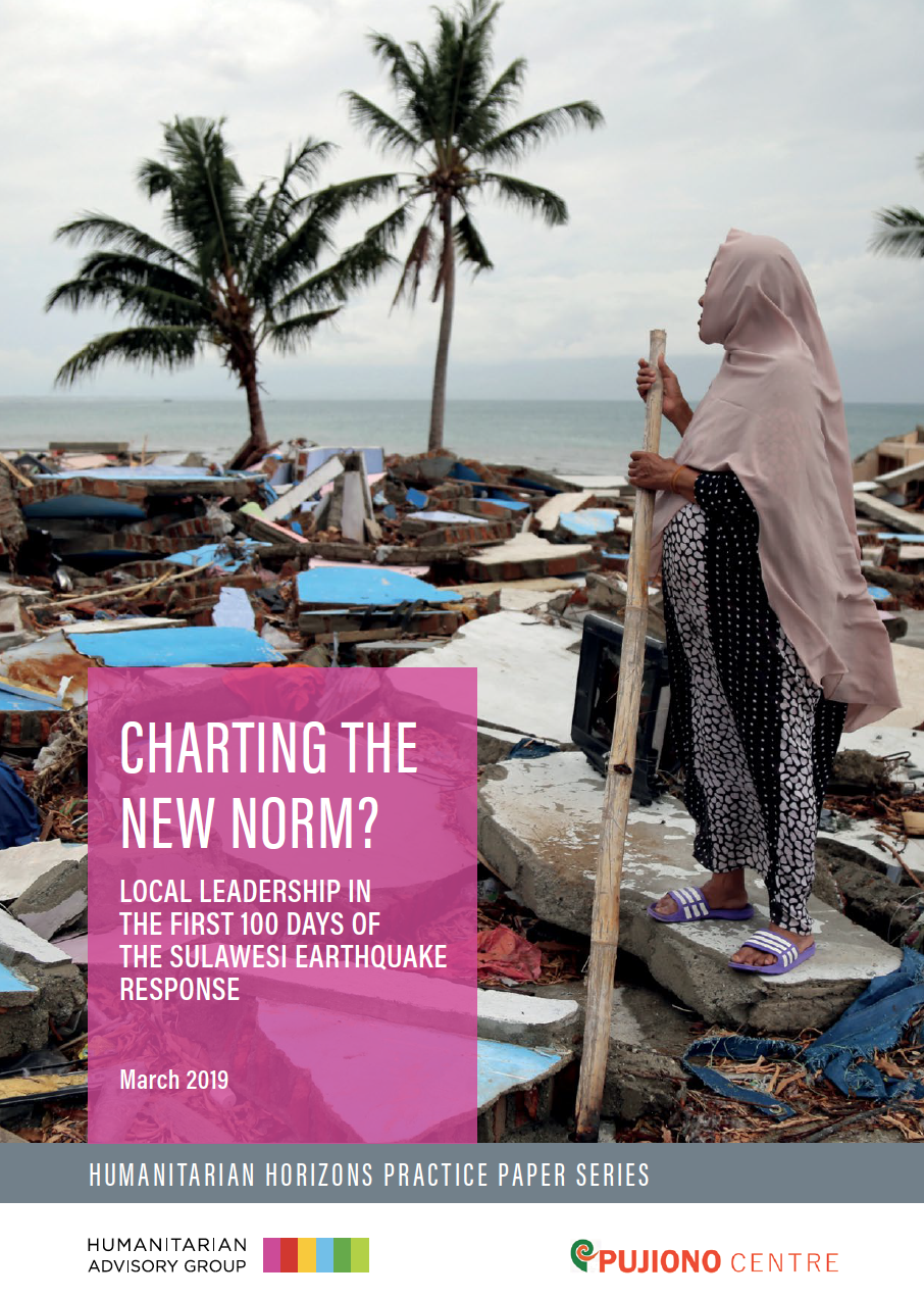 Charting the New Norm? Local Leadership in the First 100 Days of the Sulawesi Earthquake Response