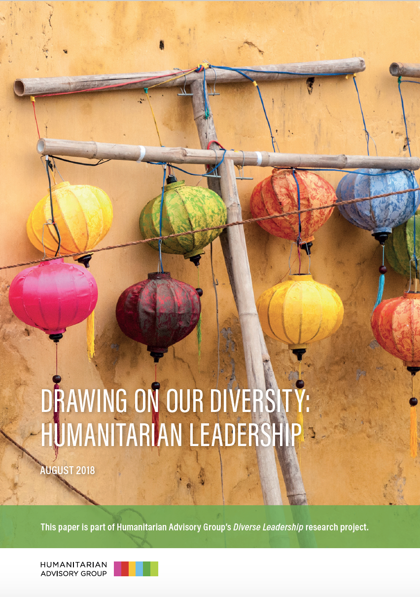 Drawing on our Diversity: Humanitarian Leadership