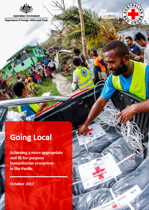 Going Local: Achieving a more appropriate and fit-for-purpose humanitarian ecosystem in the Pacific