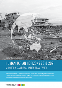 Humanitarian Horizons 2018-21: Monitoring and Evaluation Framework
