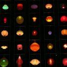 Lanterns in the dark