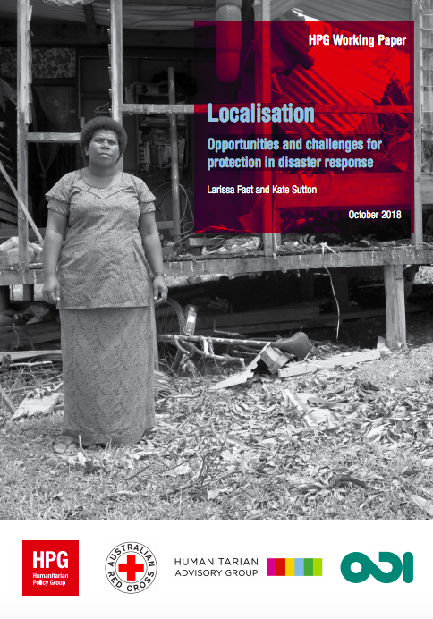 Localisation: Opportunities and challenges for protection in disaster response
