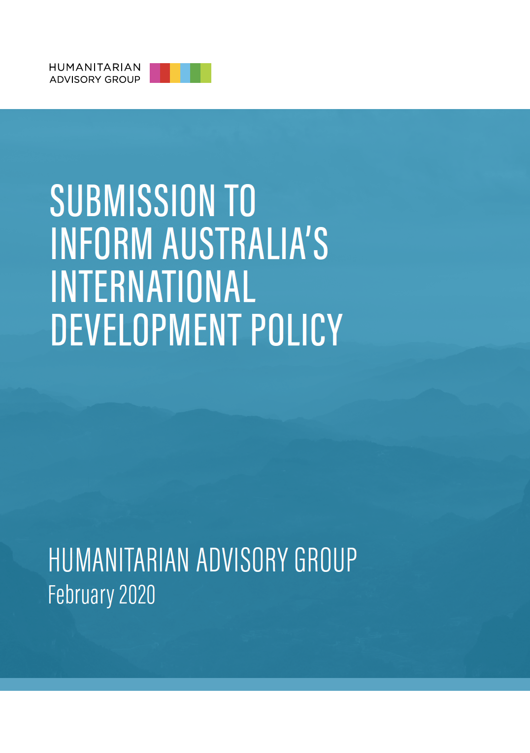 Submissions to inform Australia's international development policy